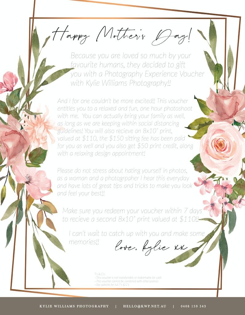 mothersday letter