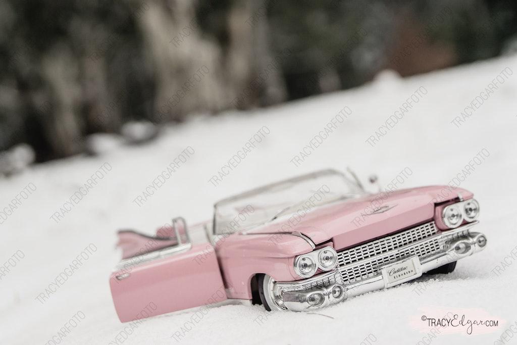 Mount Macedon - A Lensbaby Winter Wonderland #52 - Photo prop fun in the snow