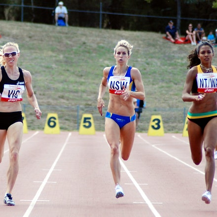 Women's 400m - Australia Cup, Canberra, January 2010