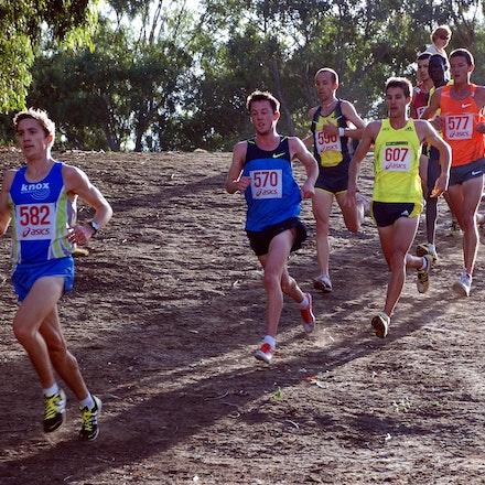 Australian trial for 2010 World Cross Country - Brimbank Park, Melbourne. January 2010.