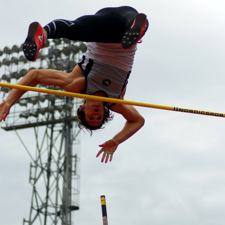 Blake Lucas - Having relocated from NSW, Blake Lucas was the winner of the pole vault with a clearance of 5.10m.
