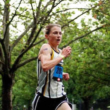 Nikki Chapple - 2009 Great Australian Run champion, Nikki Chapple.