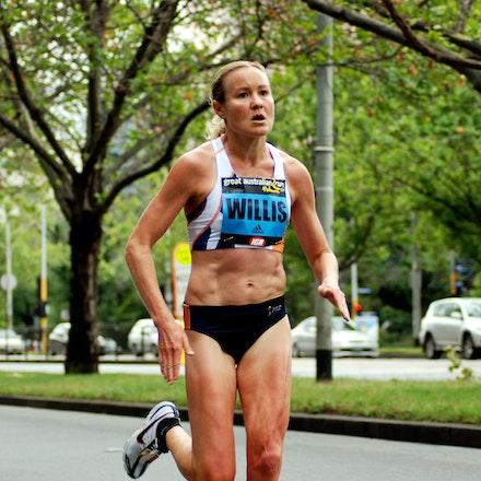 Benita Willis - Great Australian Run - Melbourne, November 2009