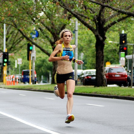 Hollie Emery - Diminutive Holly Emery was seventh in the 2009 Great Australian Run.
