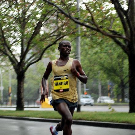 Samuel Wanjiru - Olympic marathon champion Samuel Wanjiru was not in his best form at the 2009 Great Australian Run, finishing fourth in 44:20.