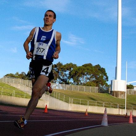 Brad Milosevic - 2009 NSW 3000m Championships.