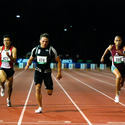 Aaron Rouge-Serret - Aaron Rouge-Serret claimed gold in the 100m with a run of 10.32 seconds (+0.4) ahead of Matt Davies (10.44s), Jacob Groth (10.45s)...