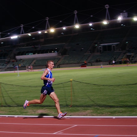 Brad Milosevic - Giraween's Brad Milosevic was fourth in the 10,000m at the 2011 NSW Championships.