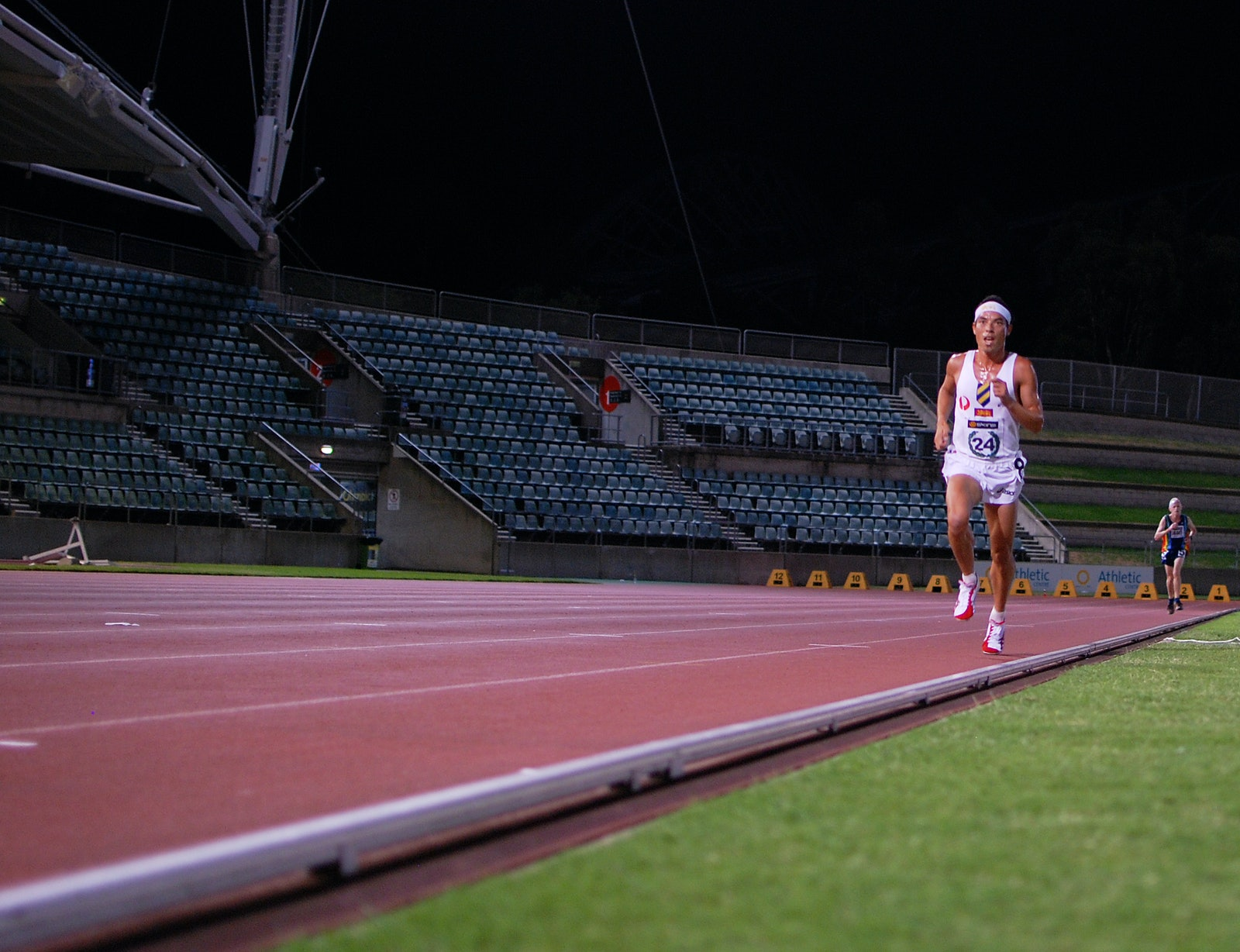 Russell Dessaix-Chin - A front running performance from Russell Dessaix-Chin secured the Sydney University athlete the 2011 NSW 10,000m title, with his...
