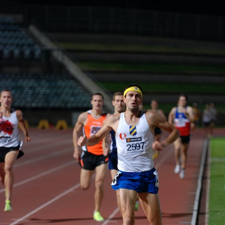 Lachlan Chisholm - An easy heat win for Lachlan Chisholm in the 1500m at the 2011 NSW Championships.
