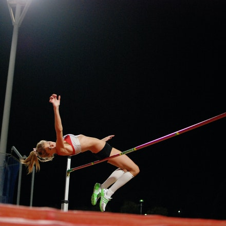 Amy Pejkovic - Amy Pejkovic was second in the high jump at the 2011 NSW Championships with a leap of 1.75m, with Trudy Thompson taking the win with a 1.80m...