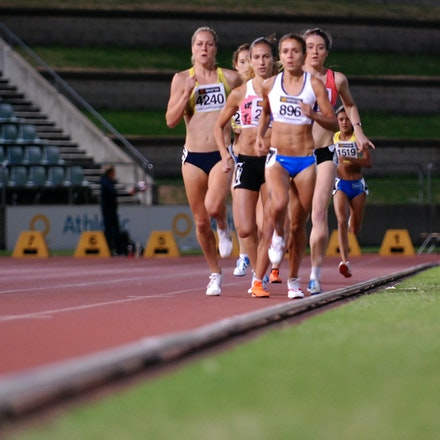 800m - The women's 800m was a closely fought affair, with Sianne Toemoe triumphing with a negative split performance of 2:05.68 ahead of Victoria's Erica...