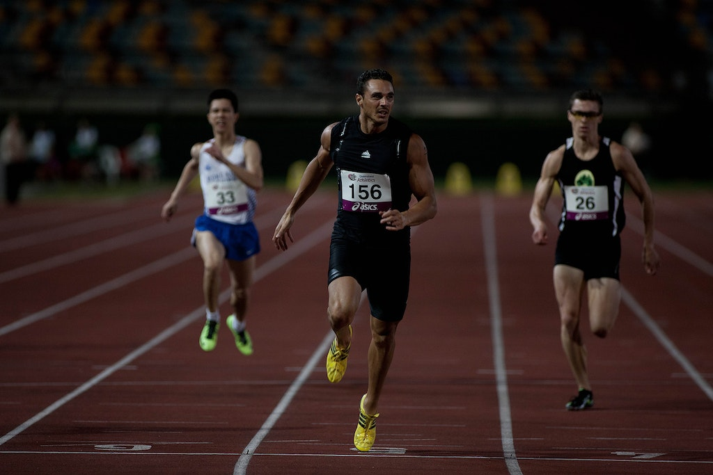 The Boss - On the track where he set his personal best of 10.08 seconds, Josh Ross claimed the 100m at the 2013 Queensland Track Classic with a run of...