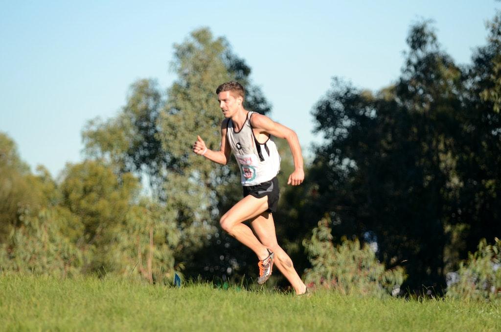 Steve Kelley - 2013 Victorian Cross Country Championships at Bundoora.