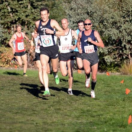 Mottram and Troop - 2013 Victorian Cross Country Championships at Bundoora.