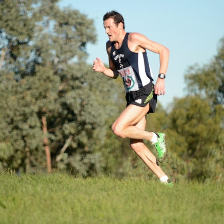 Craig Mottram - 2013 Victorian Cross Country Championships at Bundoora.