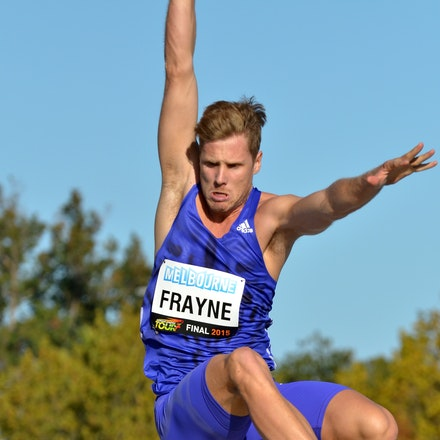 Henry Frayne - Long Jump, 2015 Melbourne Track Classic.