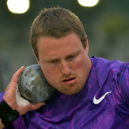 Tom Walsh - New Zealand's Tom Walsh took out the shot put  with a best throw of 20.87m.