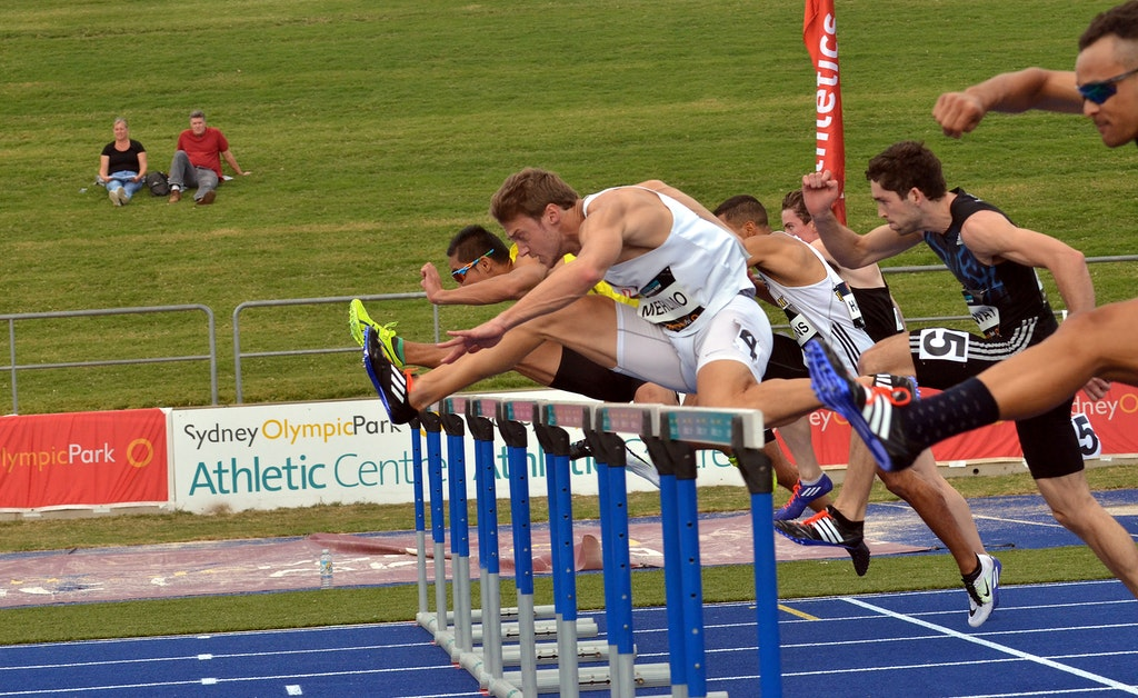 Merlino Magic - 30 year old Justin Merlino captured his fourth Australian title in the 110m hurdles in a time of 13.81 seconds (+0.6), five years after...
