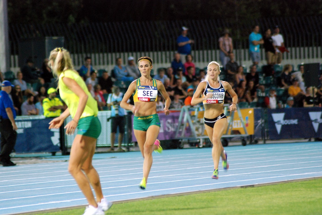 Team support - Australian team captain, Genevieve Lacaze, encourages Heidi See from the infield during the Elimination Mile at the second round of Nitro...