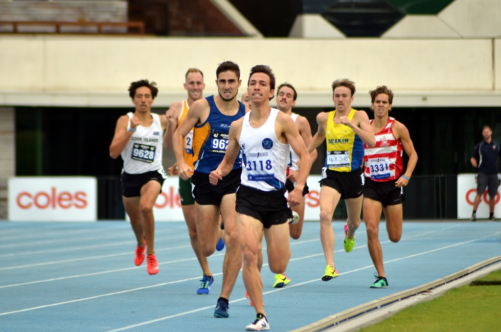 Matthew Scott - n the final event of the meet, the 800m, Melbourne University's Matthew Scott was victorious. His winning time of 1:50.90 saw him finish...