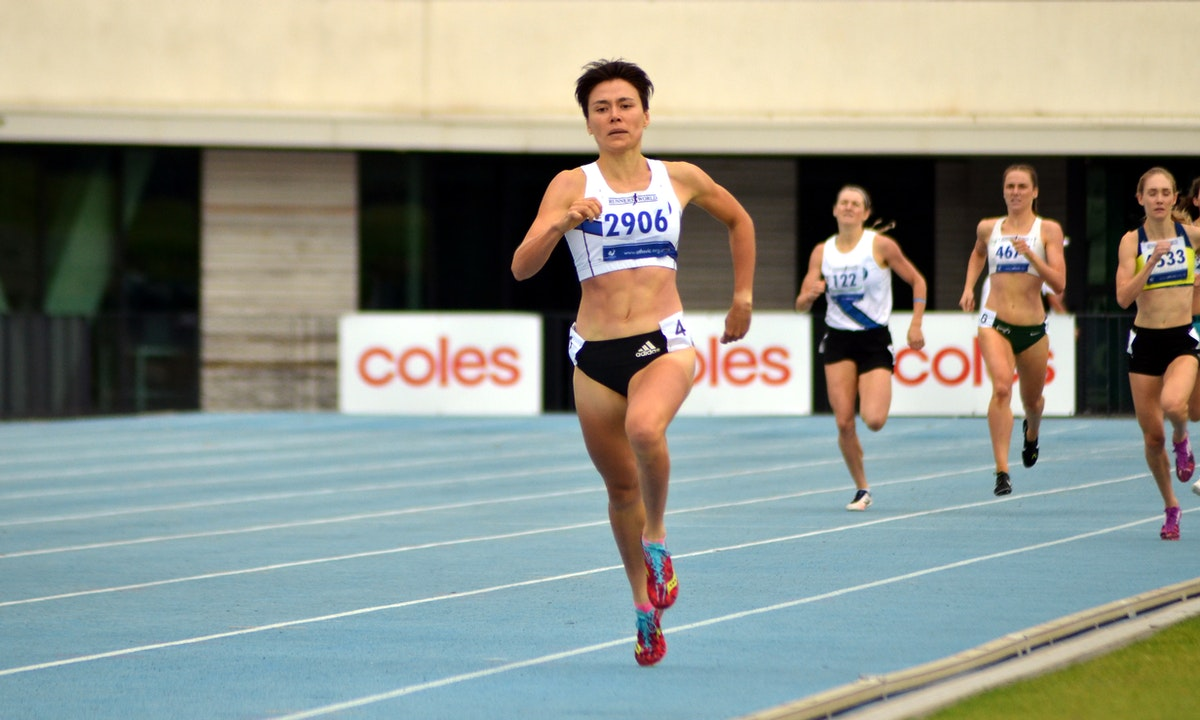 Catriona Bisset - Melbourne University's Catriona Bisset led from start to finish in the 800m, crossing the line for victory in a new personal best of...