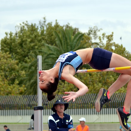 Denise Snyder - With a better clearance record Denise Synder who took gold in the high jump with a clearance of 1.75m, with Box Hill's Rachel Limburg taking...