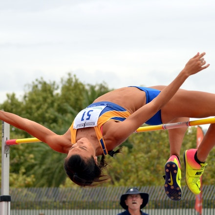 Celeste Mucci - Heptathlete Celeste Mucci had a busy day, competing in both the 200m and high jump. In the 200m the 19-year-old recorded the fastest time...