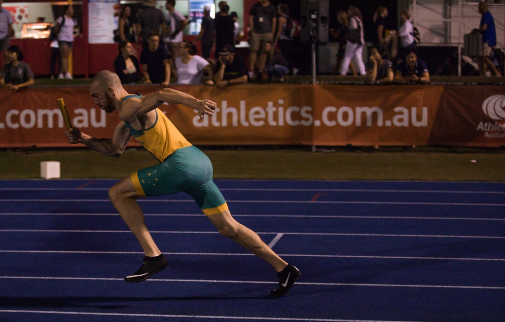 Ian Halpin - Relishing his call up to the national team, Ian Halpin ran an aggressive opening leg for the Australian 4x400m team to set up their victory...