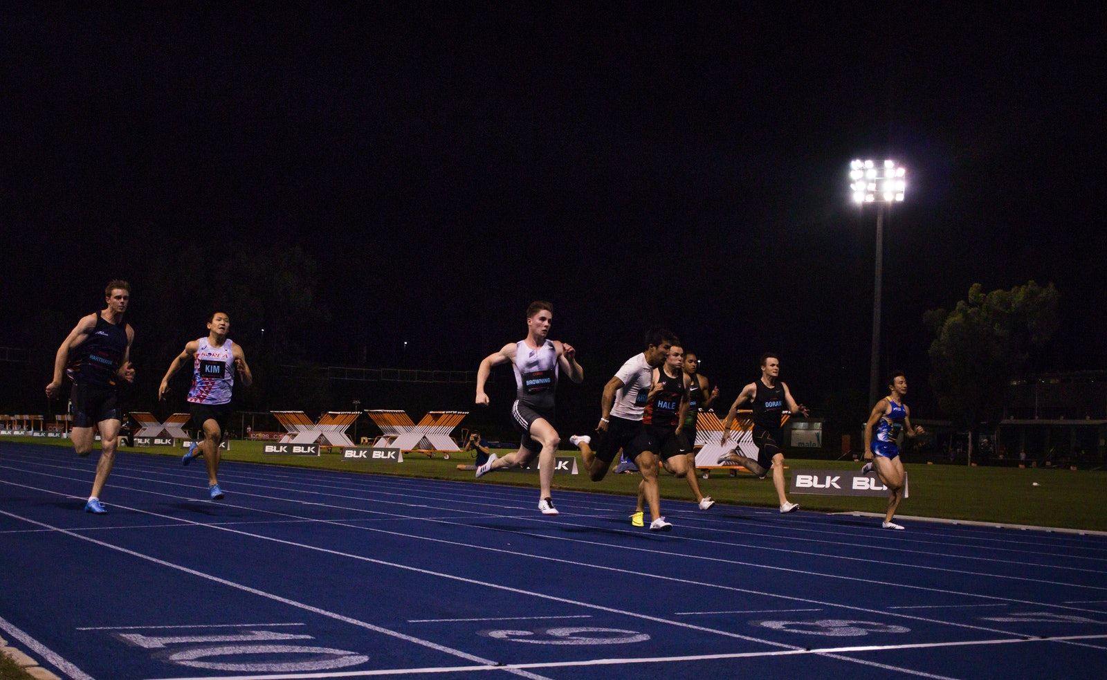 Browning breaks through - In a close 100m, Japan's Yoshihide Kiryu beat 21-year-old Australian Rohan Browning in a photofinish. With a time of 10.08 seconds...