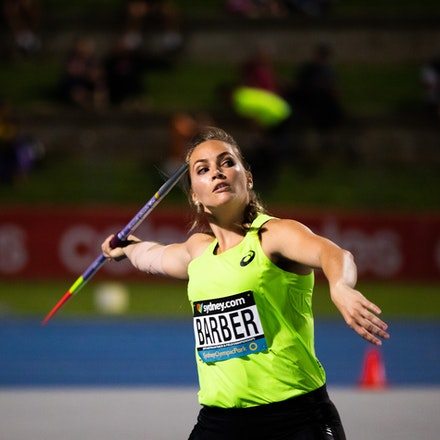 Kelsey-Lee Barber - Kelsey-Lee Barber, 2019 Australian champion in the javelin.