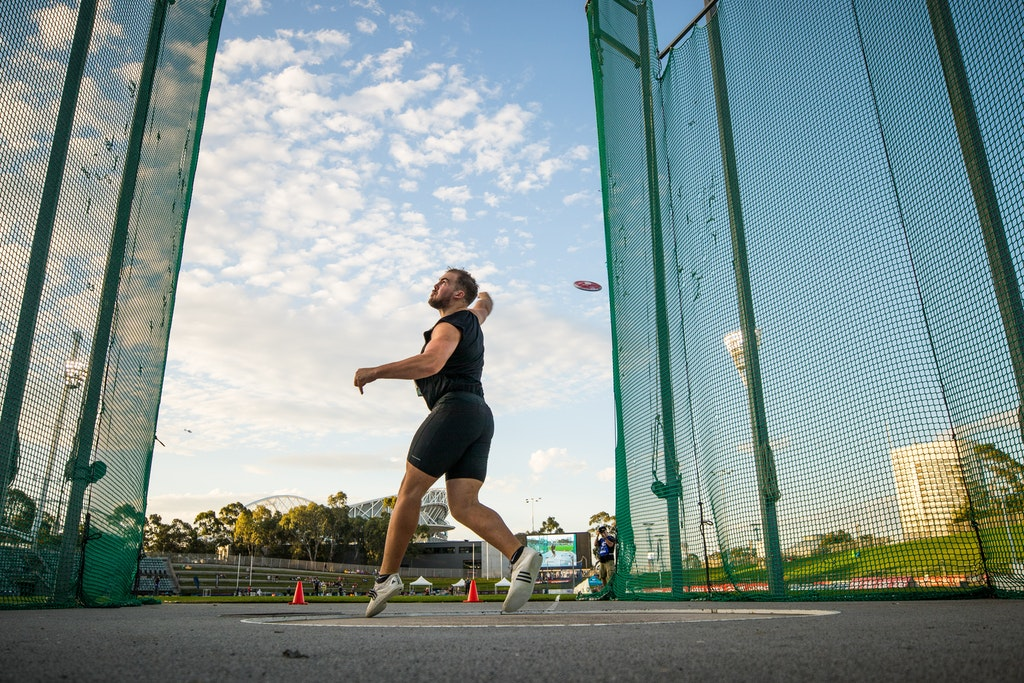 Matt Denny - Matt Denny set a world championships qualifier in winning the discus at the 2019 Australian Championships in Sydney.