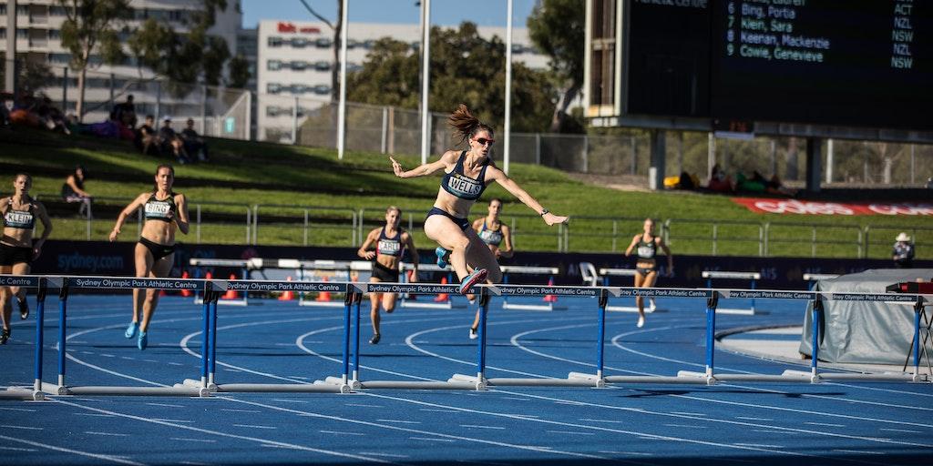 Lauren Wells - Lauren Wells clocked a personal best on her way to winning her twelfth national 400m hurdles title at the 2019 Australian Championships...