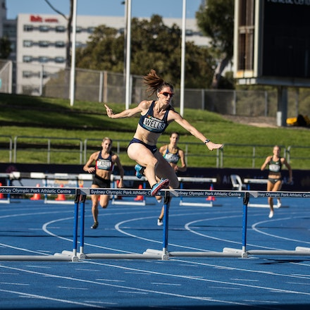 Lauren Wells - Lauren Wells clocked a personal best on her way to winning her twelfth national 400m hurdles title at the 2019 Australian Championships...