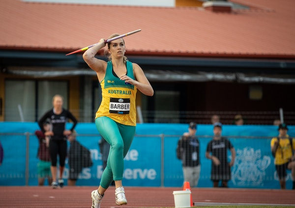 Kelsey-Lee Barber - 2019 Oceania Championships, Townsville. Photo by Casey Sims.