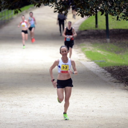 Lisa Weightman - Lisa Weighman recorded the fastest split of the 2019 Tan Relays with a 12:15 run.