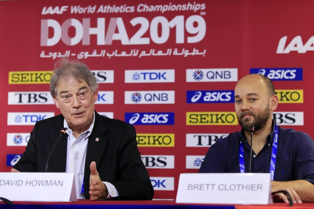 17th IAAF World Athletics Championships Doha 2019 - Day Three - DOHA, QATAR - SEPTEMBER 29: Chairman of the IAAF Independent Athletics Integrity Unit,...