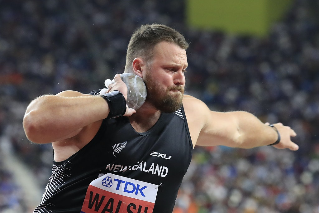 17th IAAF World Athletics Championships Doha 2019 - Day Nine - DOHA, QATAR - OCTOBER 05:  Tomas Walsh of New Zealand, bronze, competes in the Men's Shot...