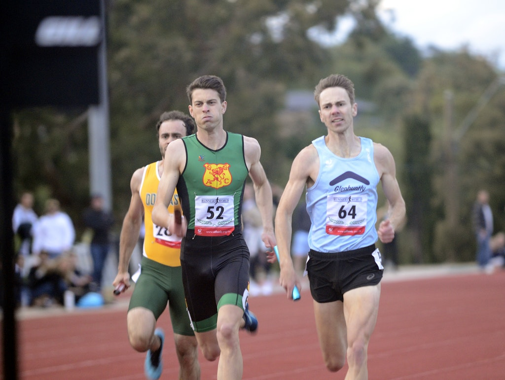 4x400m finish - Zatopek:10 2019.