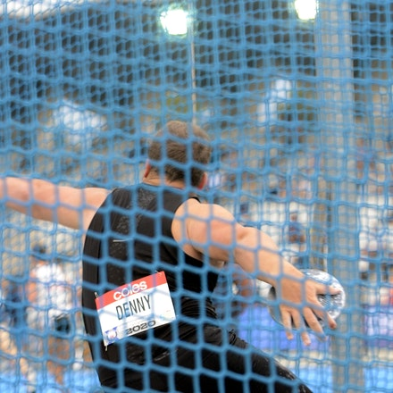 Matt Denny - Matt Denny took out the discus at the 2020 Melbourne Track Classic with a throw of 64.22m.