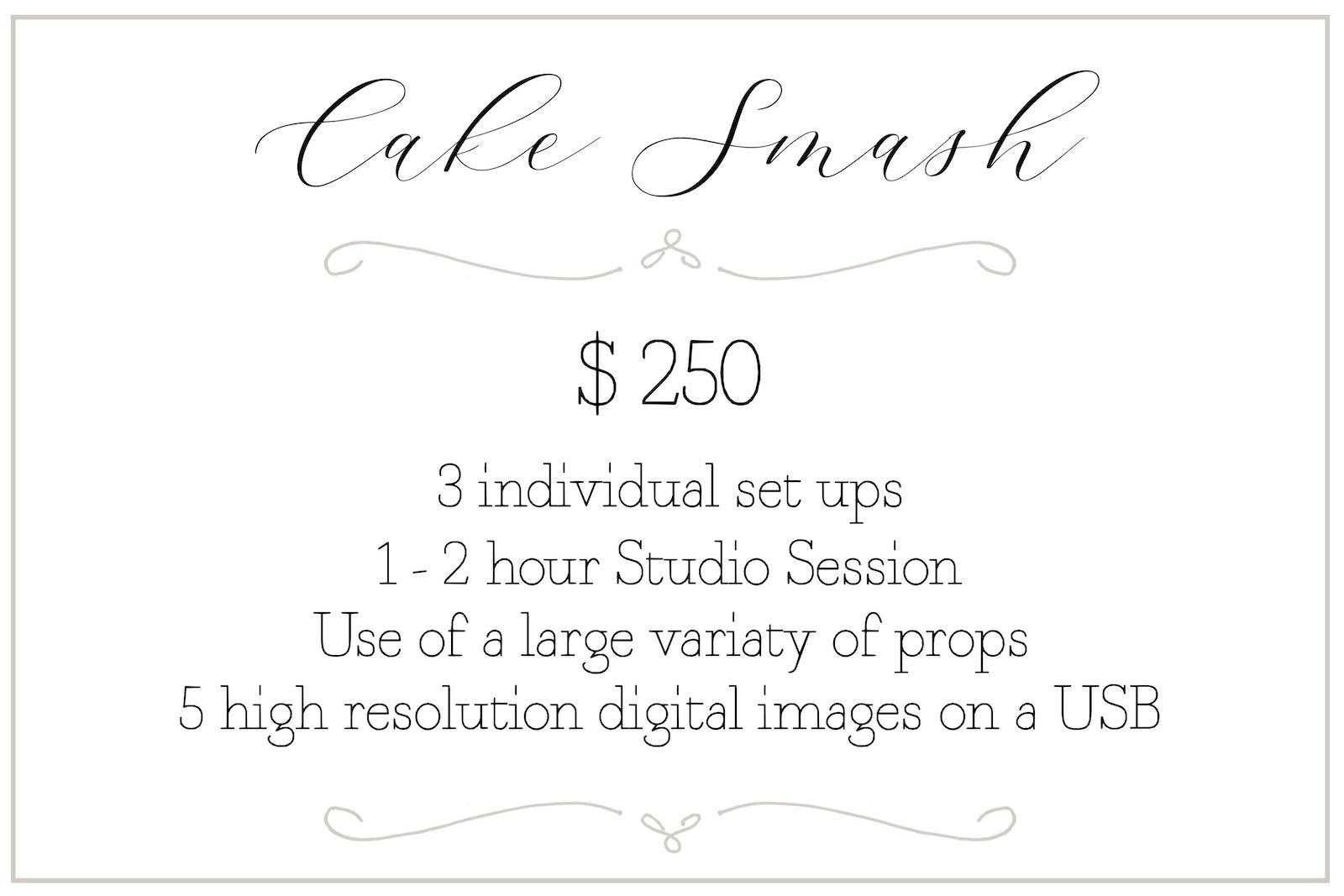 Cake Smash Session - Cake Smash Photography