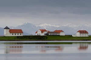 White house of Iceland - Bessastadir