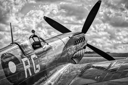 Supermarine Spitfire Mk VIII VH-HET 'Grey Nurse'
