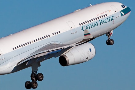 Cathay Pacific Airbus A330-300 B-HLQ - Sydney