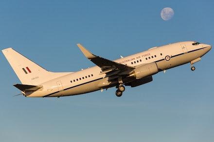 RAAF Boeing 737-BBJ A36-002 - Sydney