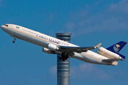 Saudi Arabian Airlines Cargo McDonnell Douglas MD11F HZ-ANC - Bangkok