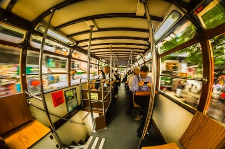 Watching the world rush by - Sitting on the upper deck of the Hong Kong trams and taking in the sights is one of this cities best attractions - and it's...