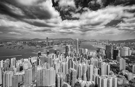 Hong Kong Metropolis - One of the most iconic views in the world is the view over Hong Kong from Victoria Peak. Day or night it is spectacular always changing.