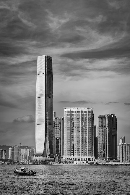 ICC Tower, Hong Kong - Currently the tallest building on Hong Kong's impressive skyline is the ICC Tower in Kowloon.