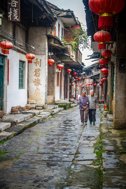 Rural village life - The small rural villages of China are wonderful places to spend time. The locals are very friendly and will always have a smile for...